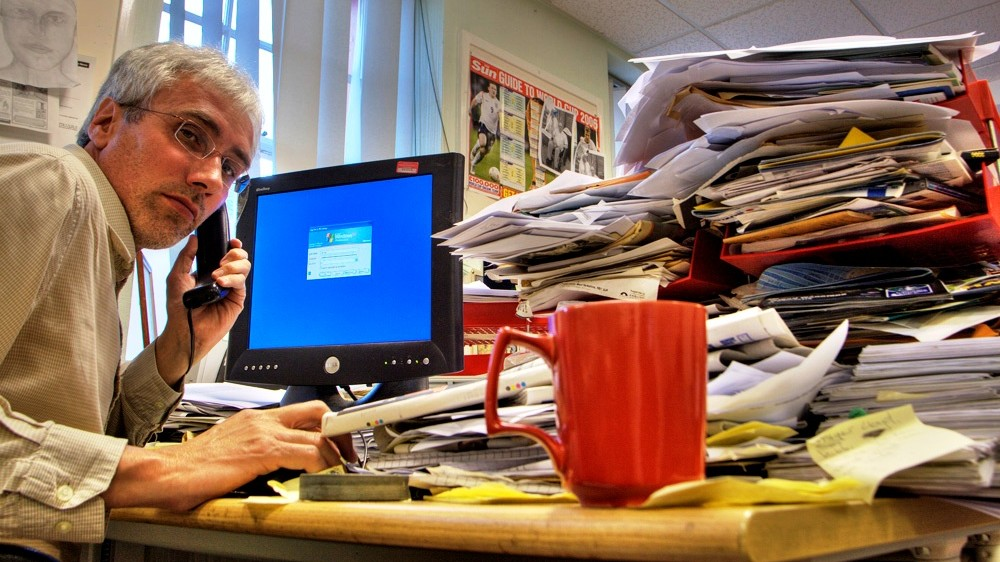 Messy Desk Strategy: 11 Productivity Tips That Will Make You More Effective...Every Project Requires an Action Plan. There is Always a Most Efficient Series of Steps for Each Project.