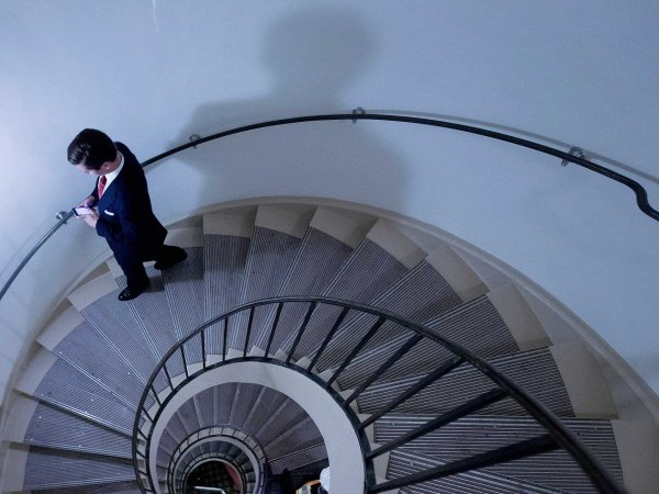 man-on-staircase