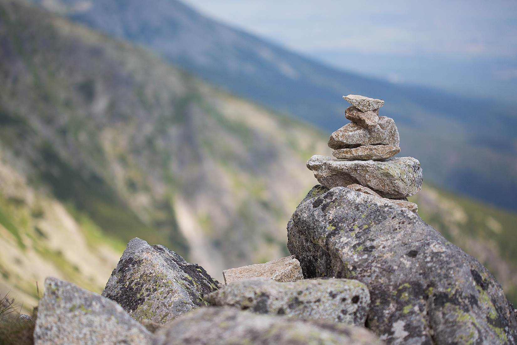 Free- Stones stacked on each other