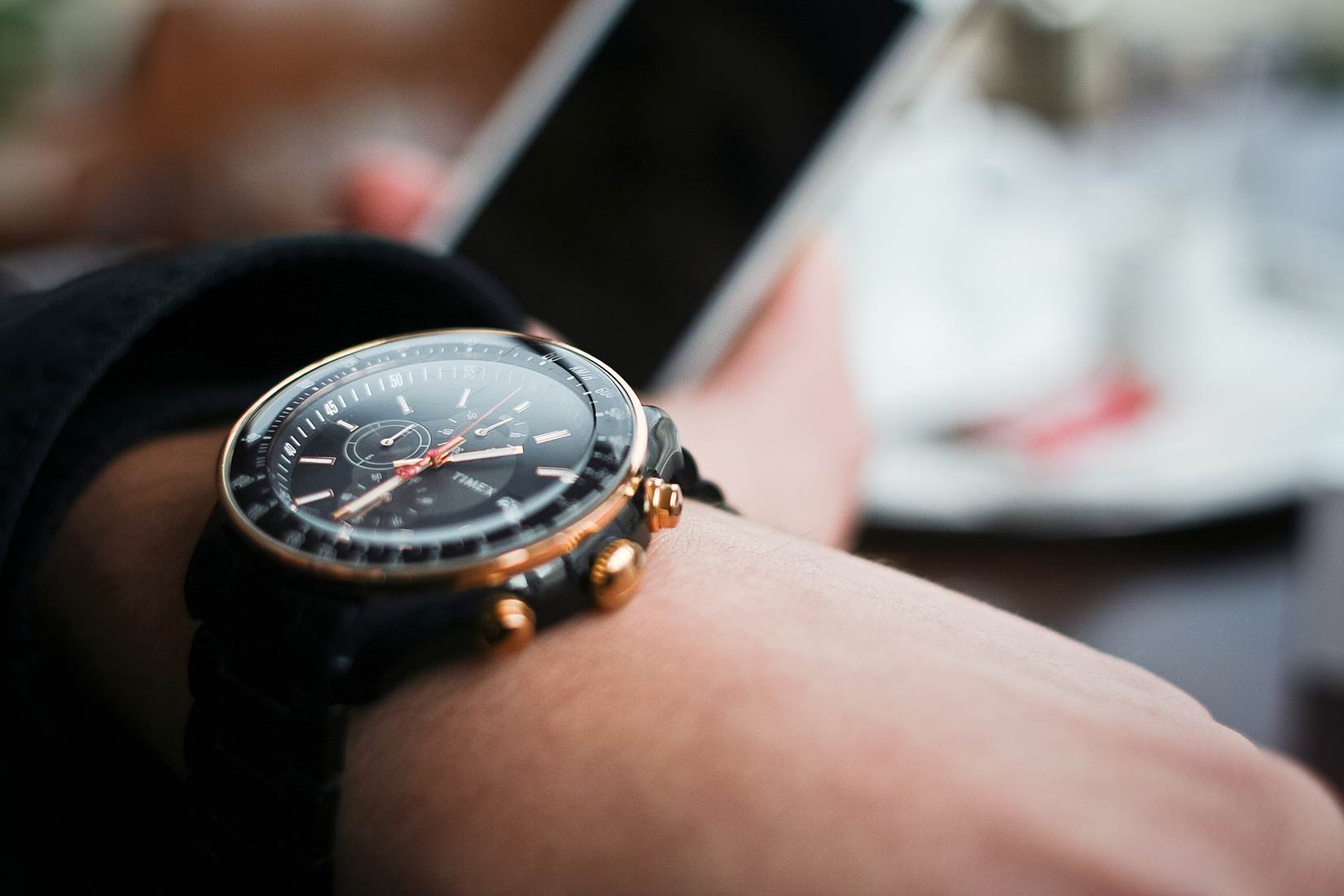 Free- Time Mans Watch